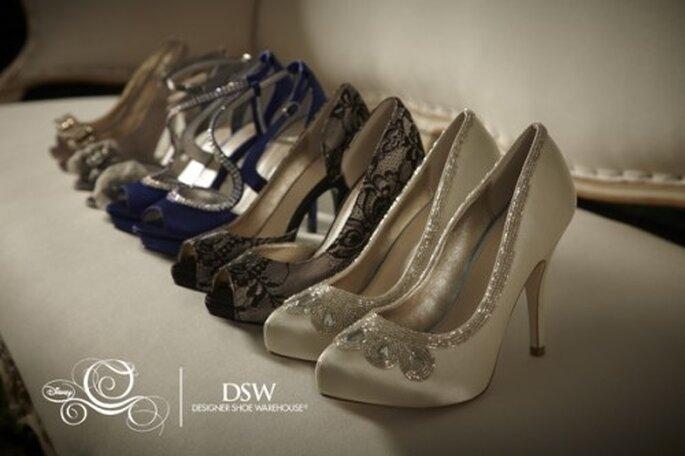 Colección de zapatos de novia inspirados en Cenicienta - Foto DSW