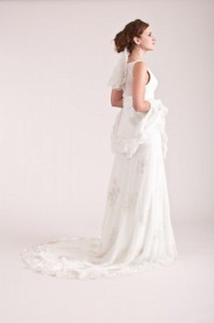 küss die Braut: Spitzenkleid