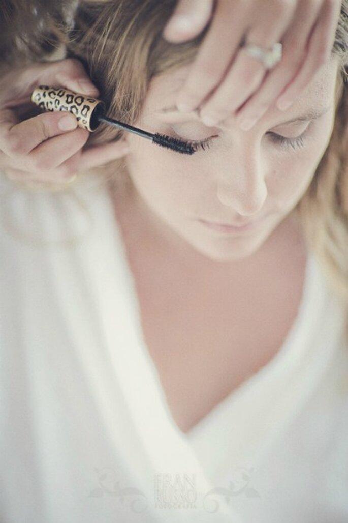 Le jour du mariage, on donne de l'intensité à son maquillage. - Photo : Fran Russo