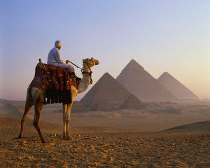 Las Pirámides de Gizeh en África