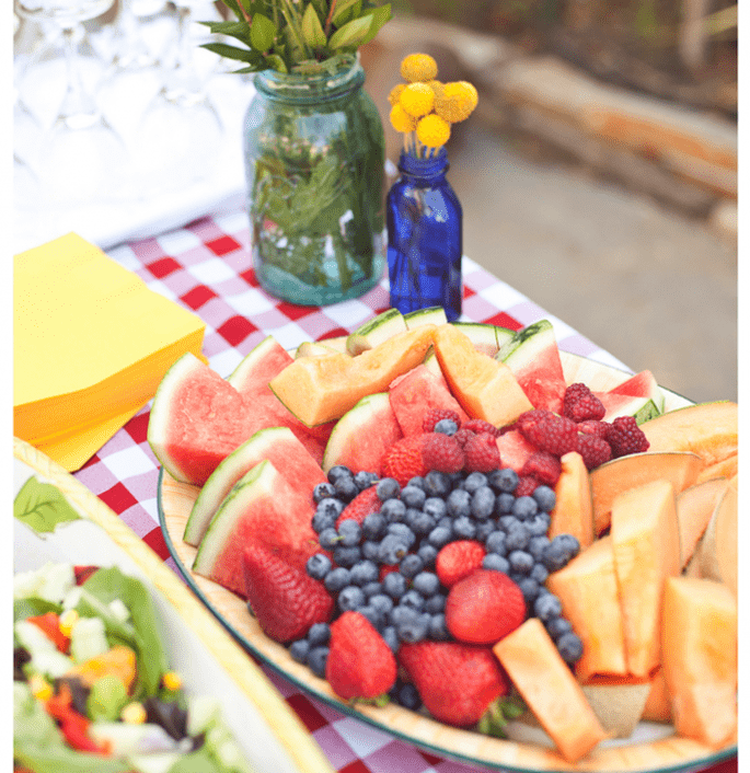 Idées pour décorer votre mariage avec des fruits - Photo Brandi Welles
