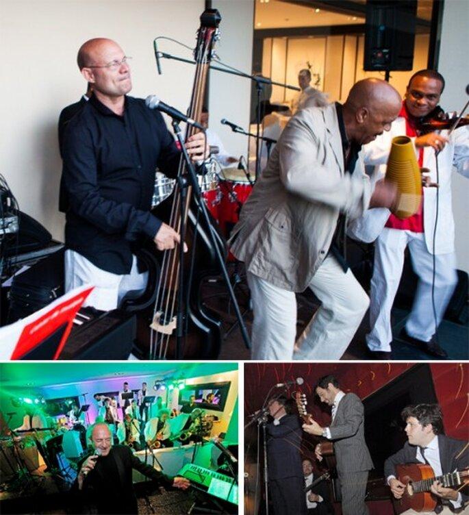 Música versatil para diferentes momentos en una boda - Foto Rosa Clará
