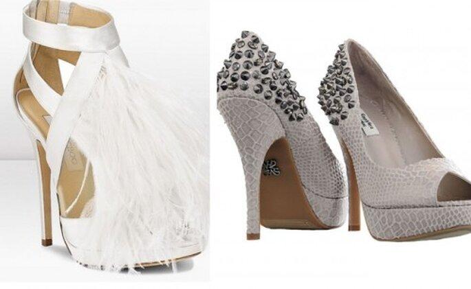 Chaussures de mariée 2013 : 5 tendances - Jimmy Choo et Vera Wang