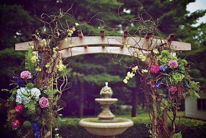 Los altares de boda más lindos para la ceremonia religiosa - Ambiance Chic Weddings Designs
