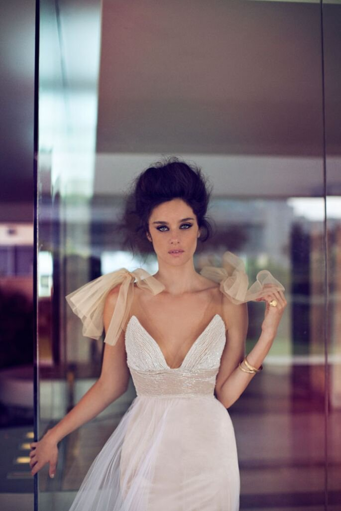 Suknia ślubna z kolekcji Zahavit Tshuba