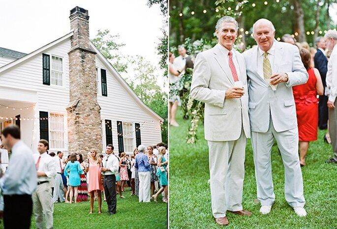 Real Wedding: Una mágica boda en un jardín encantador - Fotos de Mandy Busby