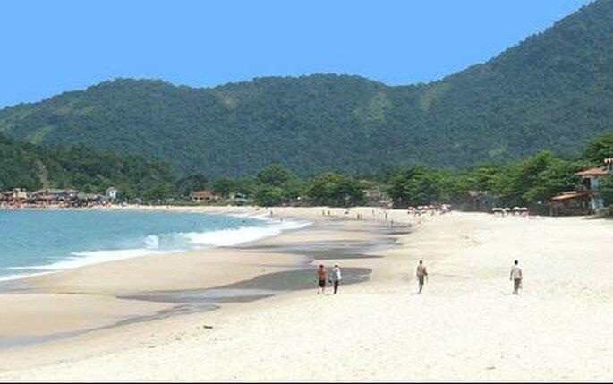 Vista de una de las playas de Paraty