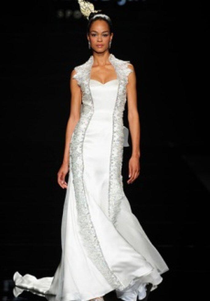 Colecciones de vestidos de novia 2011