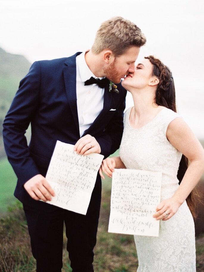 Haz votos personalizados para tu boda - Perry Vaile