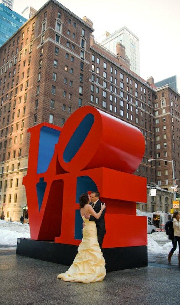 In New York wird die Liebe groß geschrieben. Heiraten Sie in New York, Foto - echtnewyork.com
