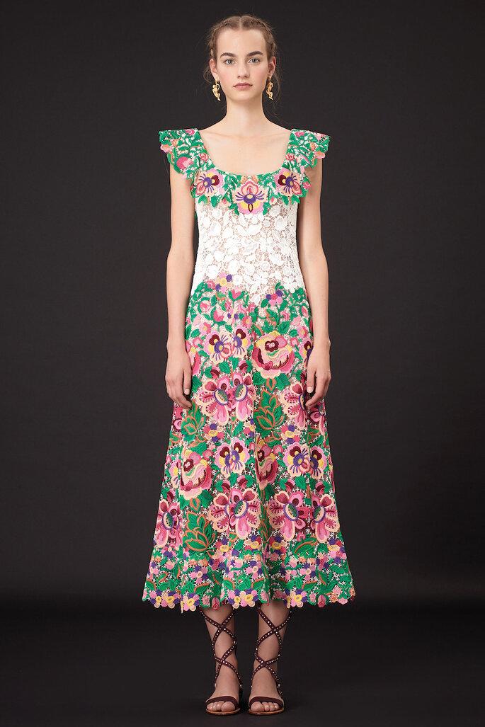 Vestidos de fiesta inspirados en la cultura mexicana , Valentino Resort 2015