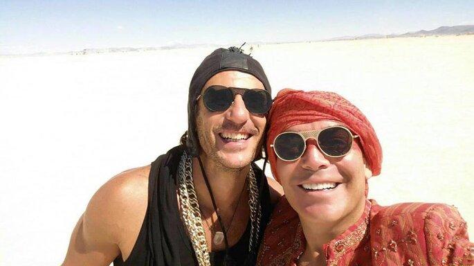 Kike Sarasola y Carlos Marrero