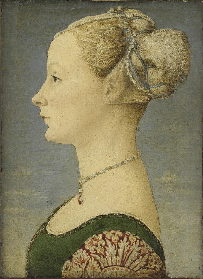 Piero del Pollaiolo Profilo di dama
