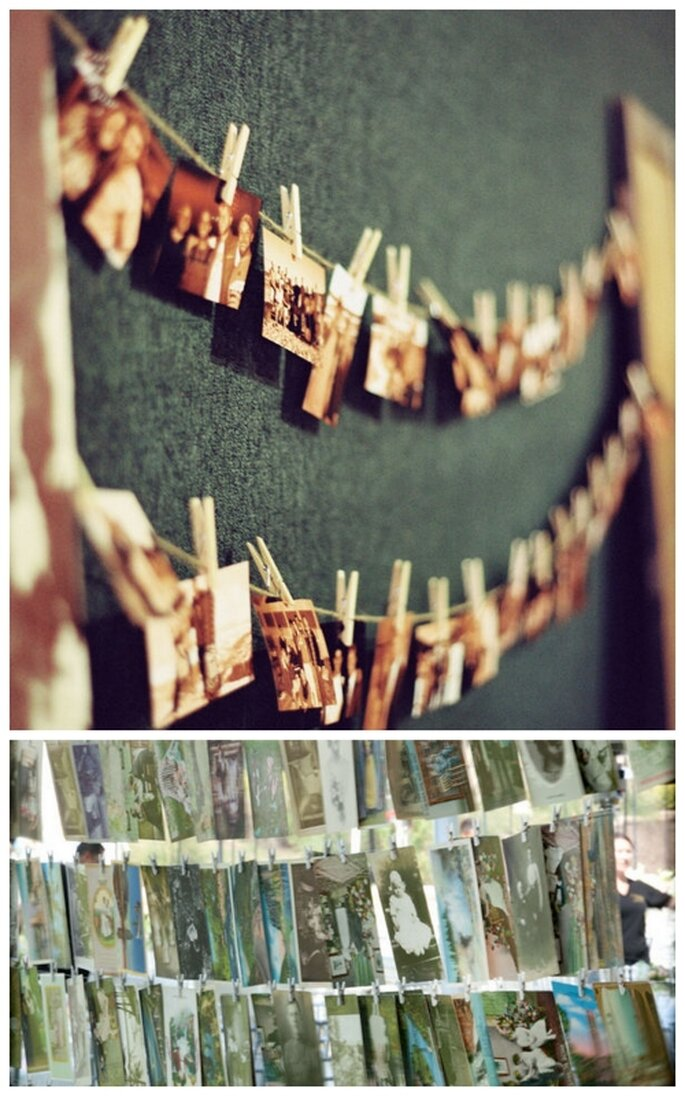 Fotografías de los novios para decorar una boda