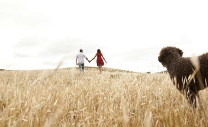 Miguel y Erika paseando - Fotógrafo: EvenPic