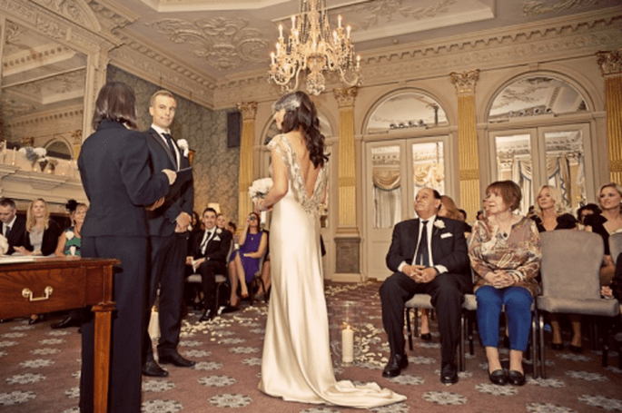 ¿Bodas grandes o chica? Organízalo bien - Foto Cotton Candy Weddings