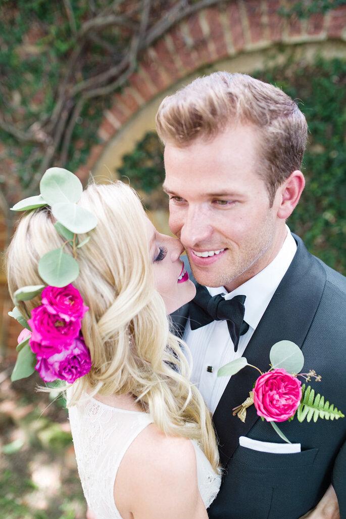 14 idées pour que mari et femme soient parfaitement assortis le jour du mariage - Lauren Jolly Photography