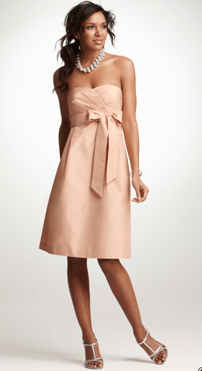 Ann Taylor Silk Taffeta Strapless Dress, $165 (sale price).
