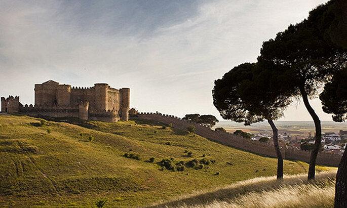 El espectacular castillo de Belmonte, en Cuenca
