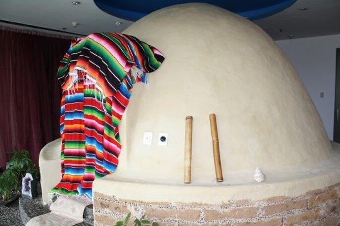 Temascal en el Hotel W. Foto. Gaby Gómez