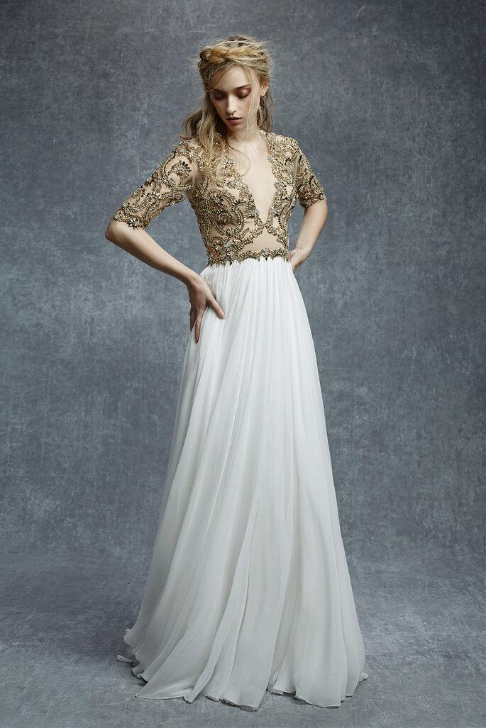 Las tendencias más grandiosas en vestidos de novia 2015 - Reem Acra Oficial