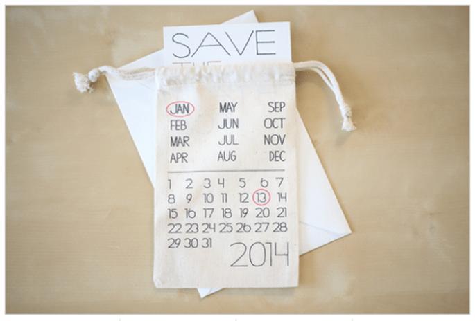 Los Save the Dates más originales para tu boda - Foto Shop Weddingchicks