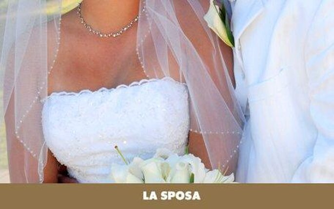 Colección de vestidos de novia con escote palabra de honor La Sposa 2010