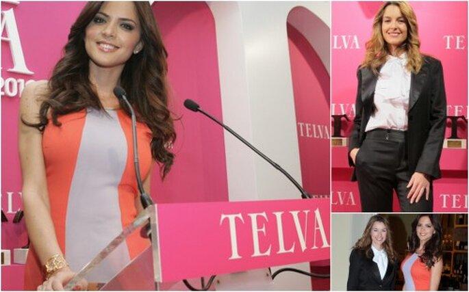 Romina presentó los Premios Telva Belleza 2012 a los que asistí como invitada. Fotos: Xavier Gil y Elio Esteban