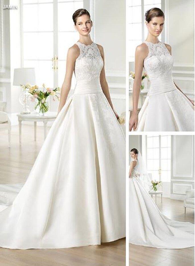 Suknia ślubna 2014 pełna elegancji