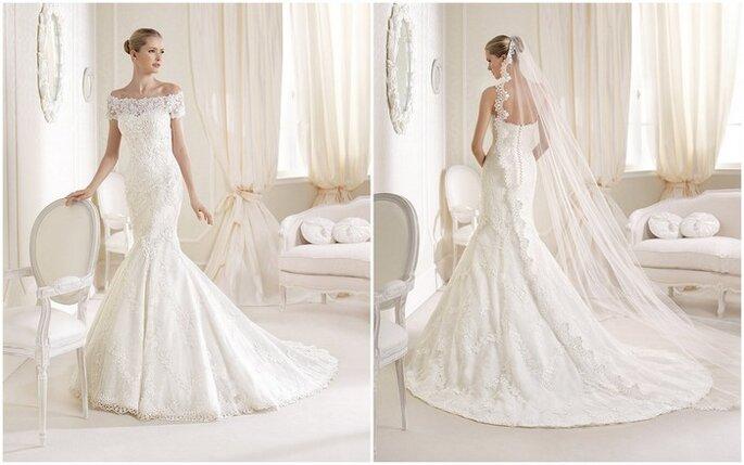 Robe de mariée Idalina de La Sposa 2014. Photo: www.lasposa.info