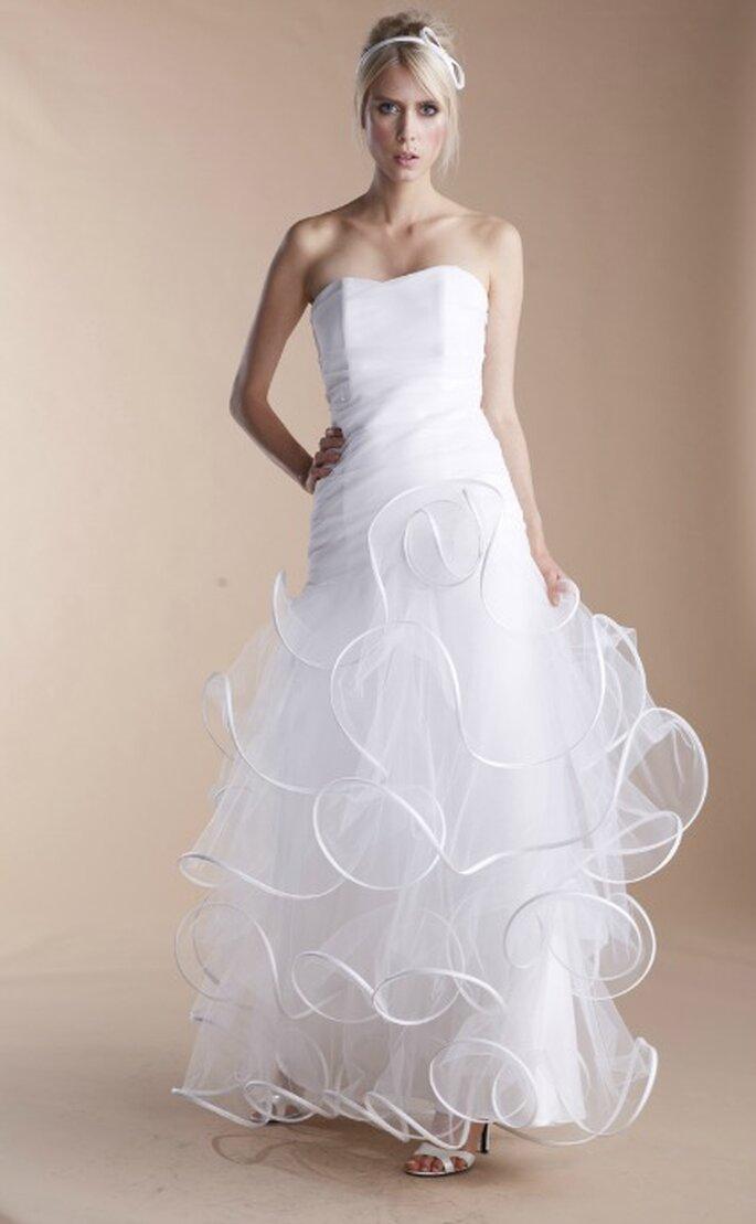 Robe de mariée Suzanne Ermann, modèle Nyne - Photo : Suzanne Ermann