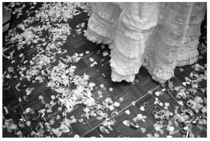Confeti para lanzar a los novios - Foto A Bryan Photo