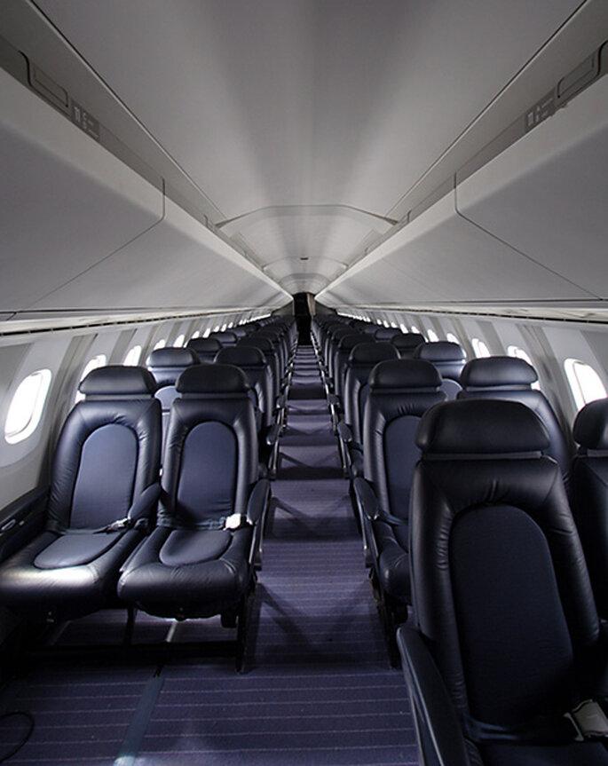 Intérieur du Concorde