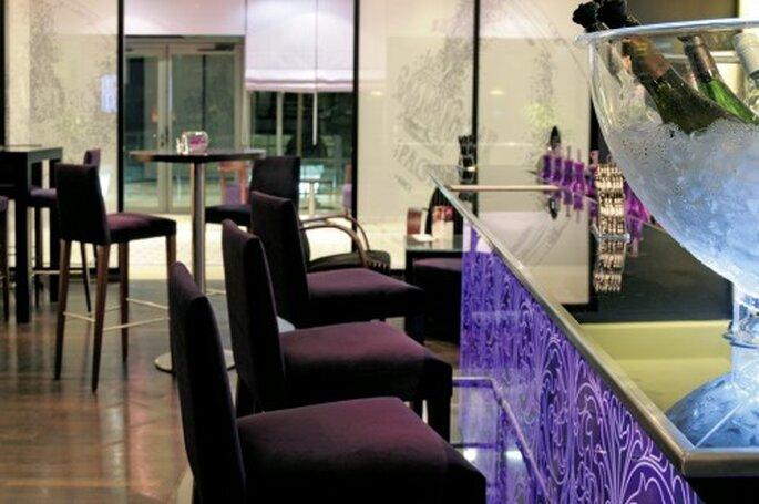 Le décor tendance de l'hôtel vous ravira ainsi que vos invités. Photo: Mövenpick Hotel.