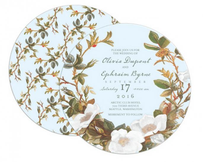 Coleção exclusiva de convites de casamento de Claire Pettibone - Foto Wedding Paper Divas