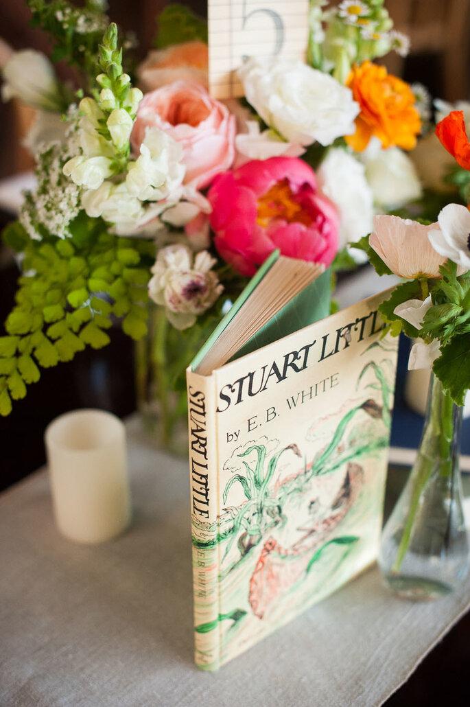 Libros para decorar tu boda - Kaysha Weiner Photographer