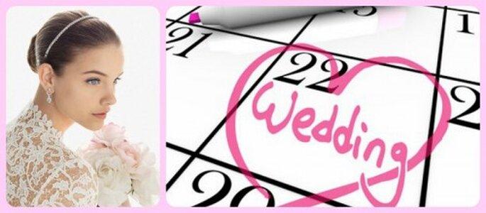 Plan de belleza para el día de tu boda - Fotos Rosa Clará y Polyvore