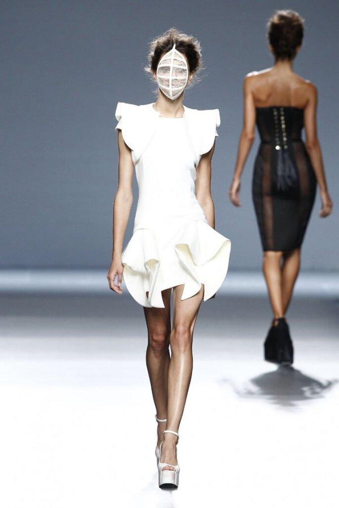 Vestidos de novia 2015 desde la semana de la moda de Madrid - Foto Maya Hansen