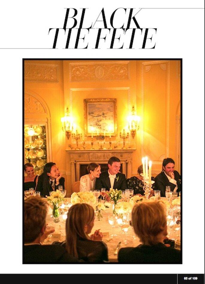 Vogue.com Casamento da também modelo Vanessa Traina e Maxwell Snow em São Francisco Foto: Samuel Lippke