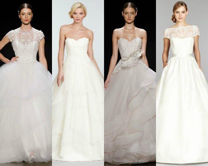 Vestidos de novia corte princesa - fotos de Hayley Paige, Lazaro y Tara Keely en JLM Couture