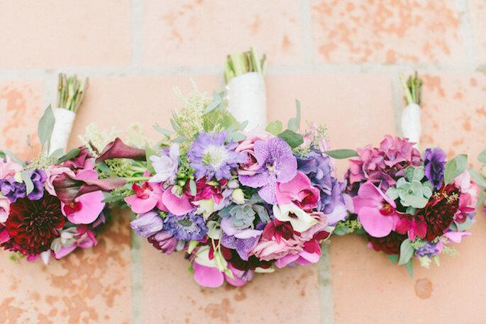 Elige un ramo de novia que vaya de acuerdo con tu imagen - Foto Wai Reyes Photography