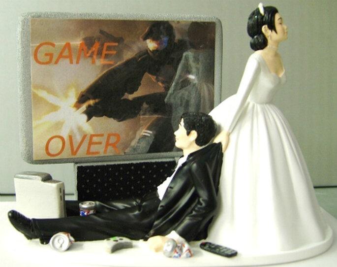 Si se te hace familiar esta escena, entonces estos muñecos son la figura ideal de reflejar las personalidades de los novios