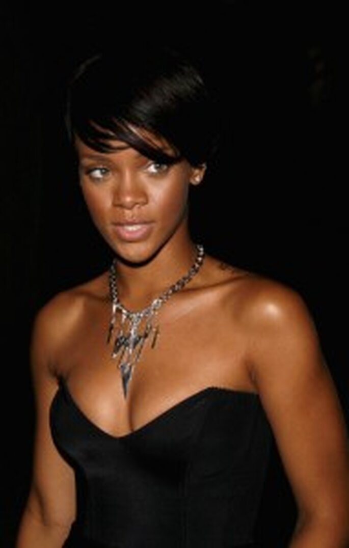 Rihanna's short cut is edgy but elegant
