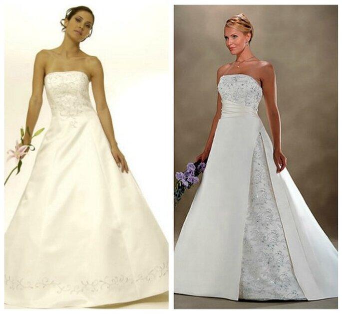 Vestidos de novia que favorecen a las mujeres altas