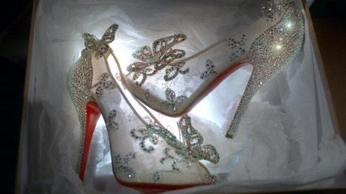 Zapatos inspirados en Cenicienta - Foto Christian Louboutin