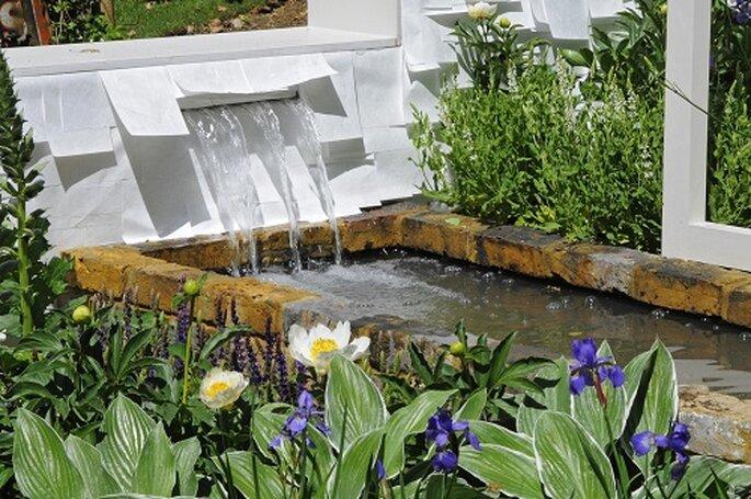 Jardín diseñado por Basildon Bond en 2011. Foto: Flower Chelsea Show.