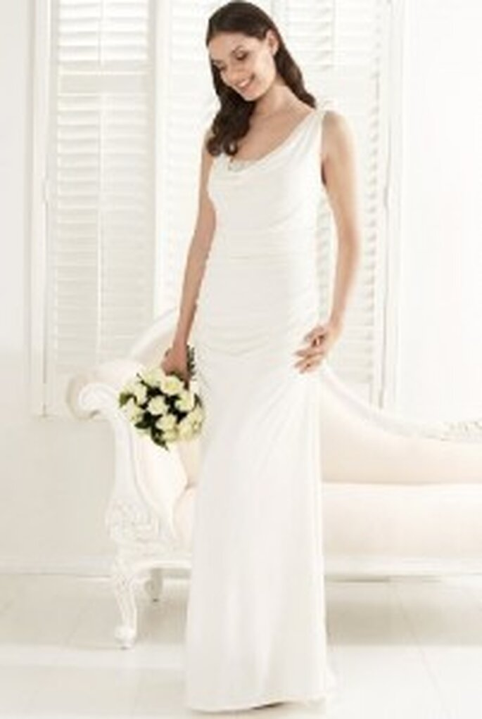 Marks and Spencer Autograph Occasions long Greek-style wedding dress