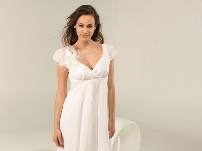 Robe de mariée Lambert Créations 2013, modèle Bisquine - Photo : Lambert Créations