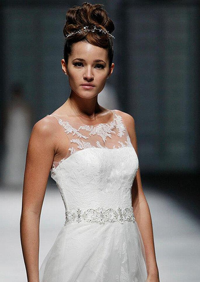 Die 5 schönsten Brautkleider aus Spitze Foto Sposa