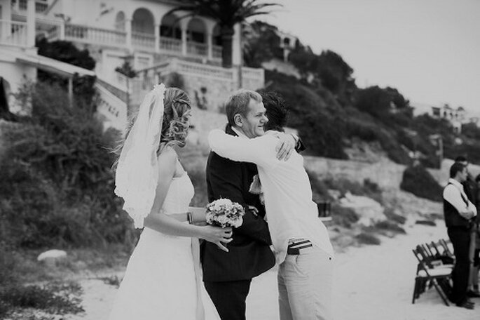 Hochzeit auf Mallorca. Der Brautvater - Foto: Nadia Meli.
